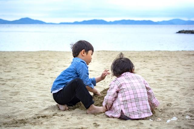 子供の遊びは感性を磨く。